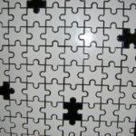 ジグソーパズル型壁面(床なども可)
