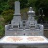供養塔付きのお墓